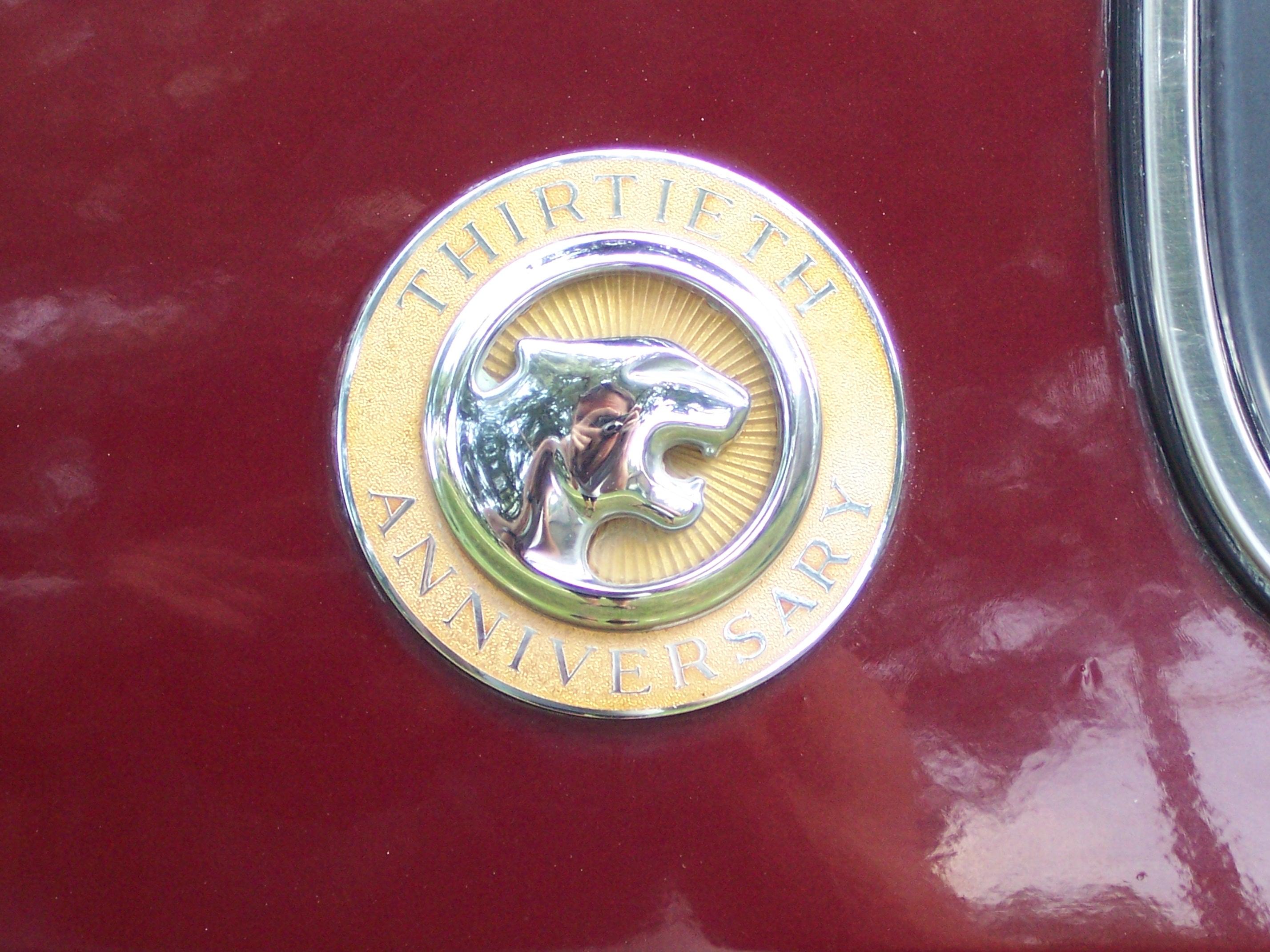 Cougar 30th Anniversary emblem