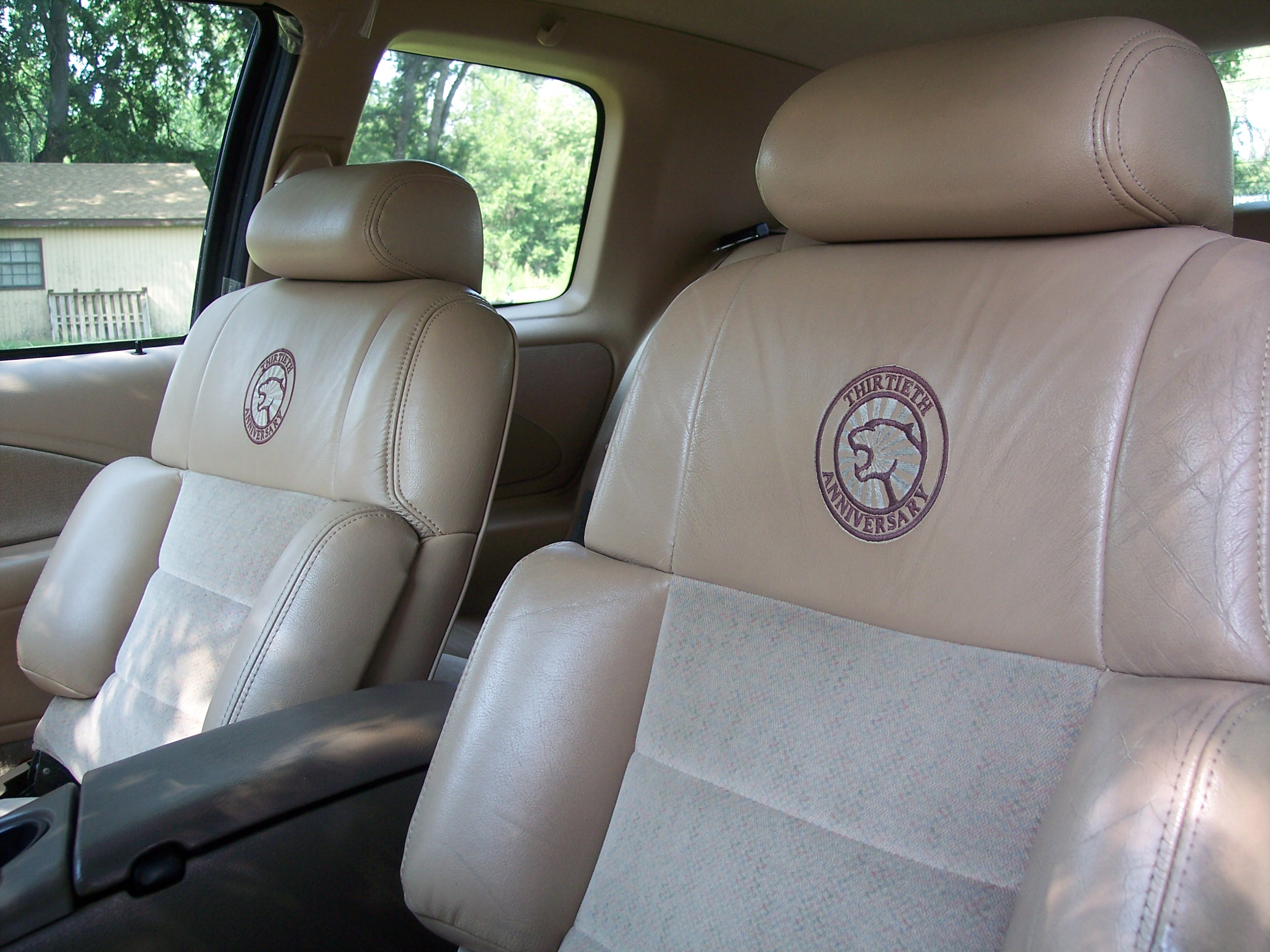 Cougar leather seats